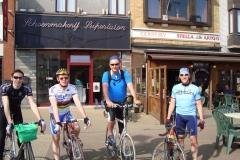 2008 met de fiets naar dender (1)