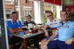2008 met de fiets naar dender (2)